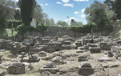 Intervention of archaeological excavation and restoration for Hill of Pionta