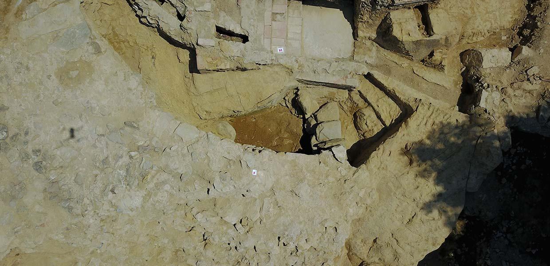 Scavi archeologici Arezzo Colle del Pionta
